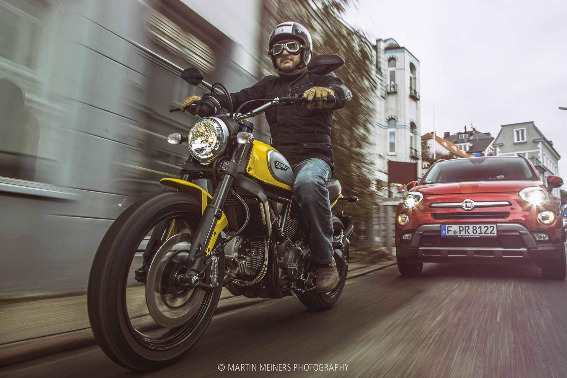 Ducati Scrambler Fiat 500X