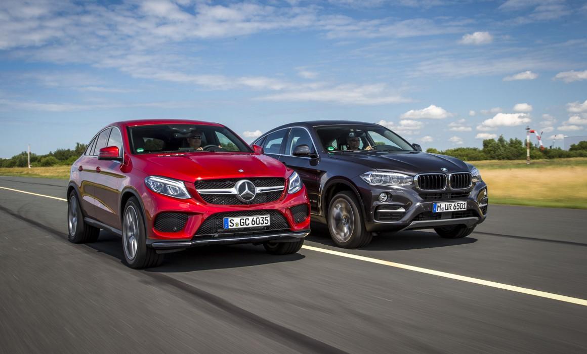 Test BMW X6 vs. Mercedes GLE 400 – Auto Bild – Martin Meiners ...