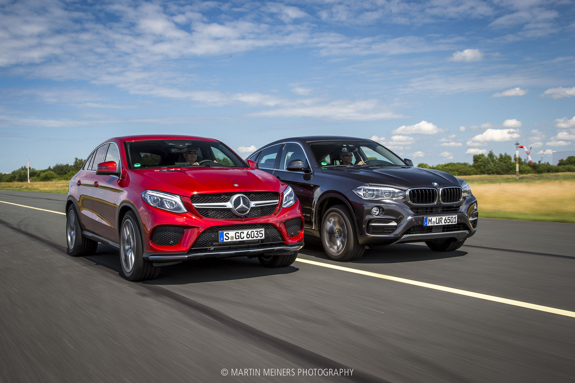 test bmw x6 vs mercedes gle 400 auto bild martin meiners photography. Black Bedroom Furniture Sets. Home Design Ideas